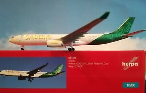 1-500-Herpa-Wings-Herpa-Wings-Saudia-A330-300-HWC-Modell-Neuware-531320