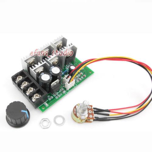 40A DC 9V-55V 12V 18V 24V 36V 48V High Power PWM Motor Speed Controller Switch
