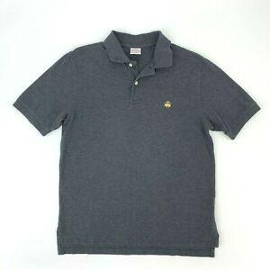 Brooks-Brothers-346-Shirt-Men-039-s-Size-S-Gray-Performance-Polo-Original-Fit-Tee