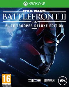 DéVoué Star Wars Battlefront 2 Elite Trooper Deluxe Edition Xbox One Electronic Arts Prix ModéRé
