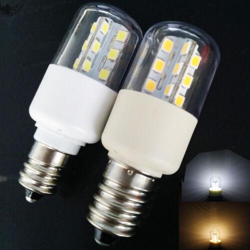 LED Oven Light Bulb For Freezer Microwave Oven Indicator Lamp Bulb 110V 220V SS