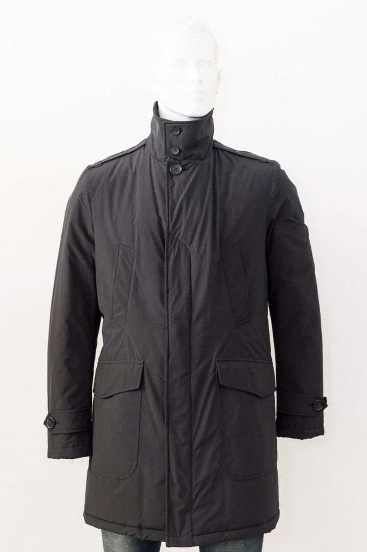 WOOLRICH Giubbino Giaccone Trench tg.M col.black   - 56% OCCASIONE