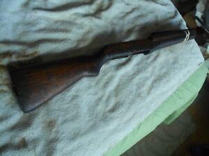 WW2-USGI-M-1-garand-rifle-wood-replacement-stock-amp-matching-handguards-circle-P