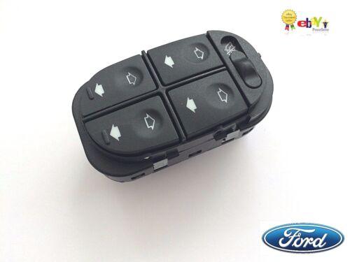 Genuino Nuevo Ford Mondeo MK1 MK2 1993-2000 Interruptor VENTANA ELÉCTRICA WINDER Levantador