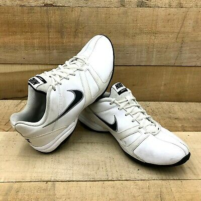 invierno barba Arena  Nike Air Affect Mens White Leather Trainers Shoes 488100-100 Size US 8 |  eBay