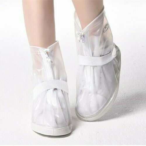 Reusable Rain Snow Shoe Covers Waterproof Overshoes Boot Anti-Slip Leak Proof
