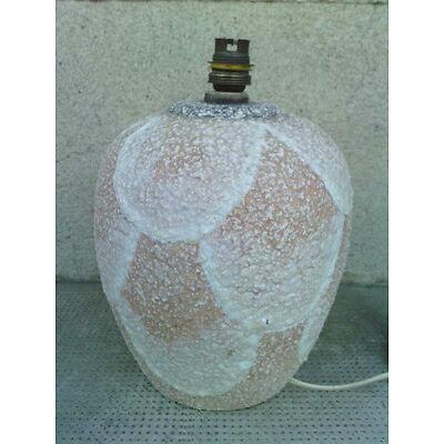 lampe ceramique decor geometriqe design art deco styl faure email CAB ? vase