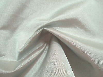 Awesome SILVER GRAY Light to Medium Wt. TAFFETA Subtle IRIDESCENT Shimmer Fabric