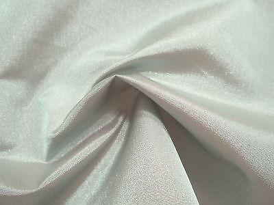 3.5 Yds-SILVER GRAY Light to Medium Wt. TAFFETA Subtle IRIDESCENT Shimmer Fabric