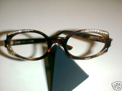 5507ffc4a2 Buy Vintage Eyeglasses Oval CAT Tortoise 44stones online