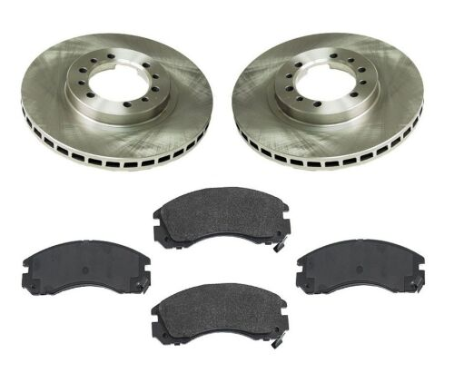 Front Brake Kit w// Rotors /& Semi Metallic Pads For Mitsubishi Montero Sport V6