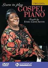 Learn to Play Gospel Piano Two-DVD Set DVD NEW 000641579