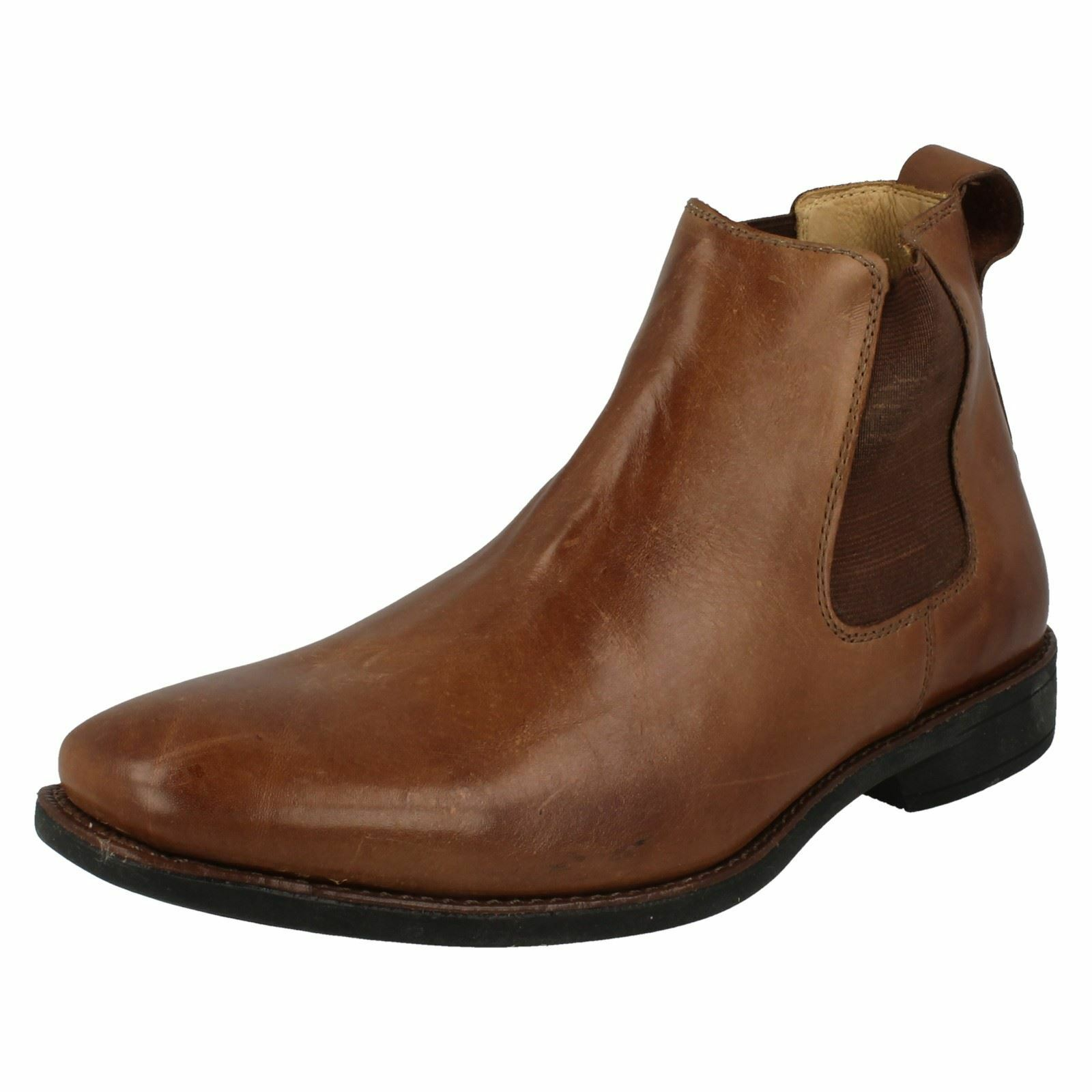 Anatomic Pinhao Touch Mens Brown Leather Chelsea Style Boot (R40A) Ket