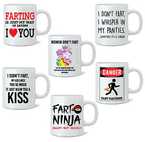 Funny-Fart-Mug-Joke-Tea-Coffee-Mug-Cup-Gift-Poo-Novelty-11oz-White-Mug