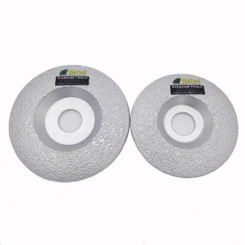 """2pcs 4/"""" 4.5/"""" 5/"""" 100 mm 115 mm 125 mm Brasé meulage diamant coupe disque de roue Meuleuse"""