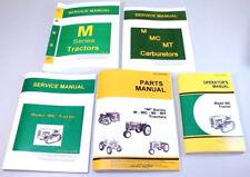 Service Manual Set For John Deere Mc Crawler Tractor Parts Operator Dozer Book