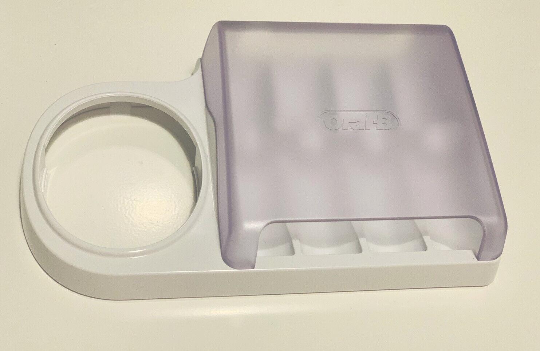 Oral-B Braun Electric Toothbrush Stand Accessory Brush Head Holder Storage Box