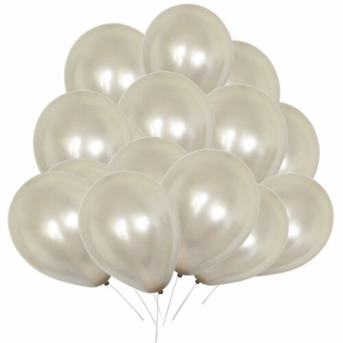 """10/""""x100 Large Clear Balloons Helium High Quality Party Birthday Wedding Ballons"""