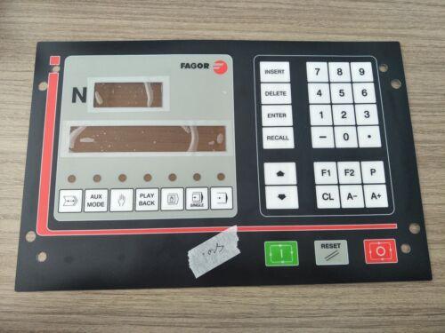 1PC NEW FAGOR 102S Button membrane