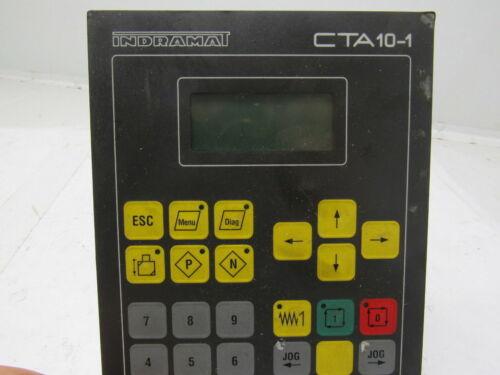 Indramat Rexroth CTA10.1B-001-FW Operator Interface Panel Key Pad