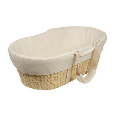 Bebecare Moses Basket Baby Bassinet W Mattress Pad #`096554-004