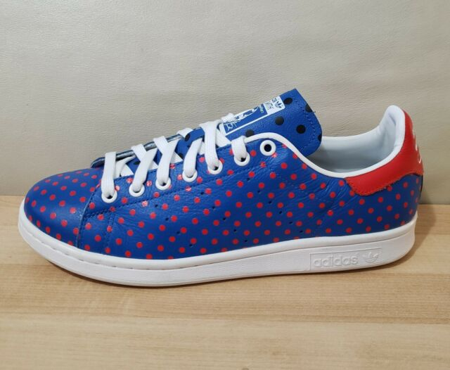 more photos 94247 a8a3f mens ADIDAS X Pharrell WILLIAMS Stan Smith SPD PW B25400 Polka Dot Leather  Shoes