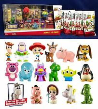 New 2017 TOY STORY MINIS Lot 17 Figures ALL DIFFERENT 10 Pk + Blind Bags SEALED