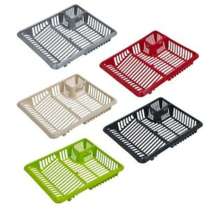 Large-Plastic-Dish-Drainer-Cutlery-Rack-Kitchen-Sink-Utensil-Draining-Cup-Holder