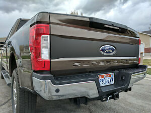 New 2017 Ford Super Duty Tailgate Blackout Decal Vinyl Graphics F