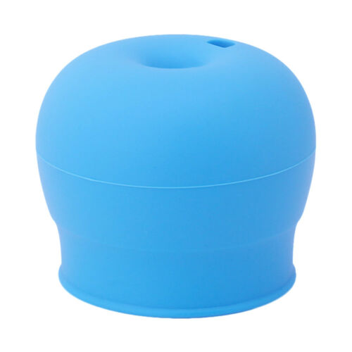 Home Cute Silicone Kids Sippy Lids Stretchable Spill Proof Cup Drinking Bottle