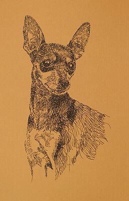 WELSH CORGI DOG ART #64 Stephen Kline will add dogs name free WORD DRAWING gift