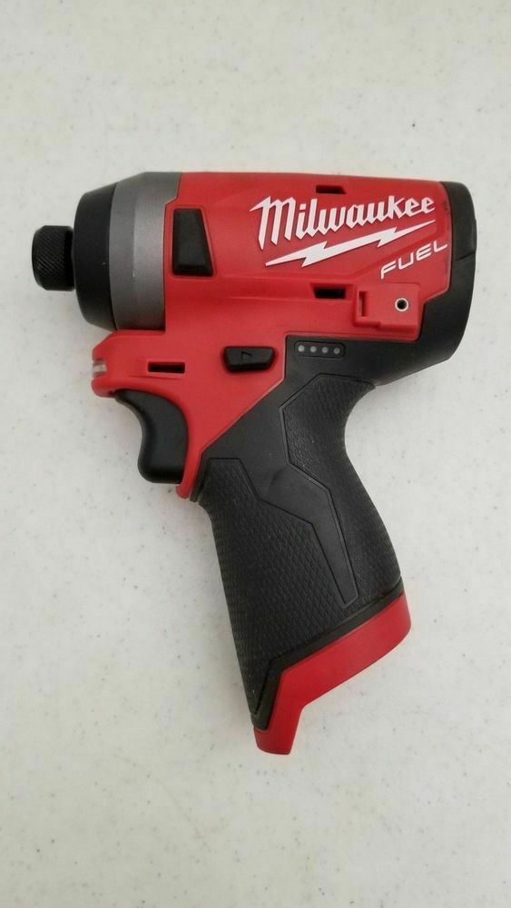 Milwaukee 2553-20 M12 FUEL 12V Li-Ion Brushless Impact Driver + (1) M12 Charger