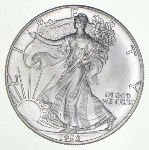 Better Date 1992 American Silver Eagle 1 Troy Oz .999 Fine Silver