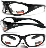 Global Vision Hercules Clear Lenses Unbreakable Tough Safety Glasses Z87+