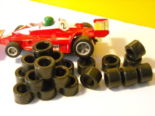 NEW 20  urethane slot tires Matchbox HO  - Uk