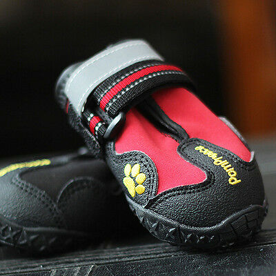 Popular New Design Pet Shoes Outdoor Sport Shoes Protect Waterproof Dog Shoes