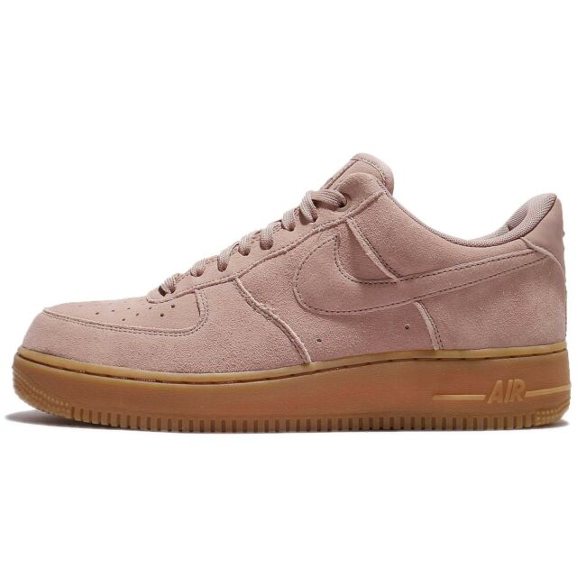 wholesale dealer 0389a 36456 Nike Air Force 1 07 LV8 Suede AF1 Low Particle Pink Men Shoe Sneakers  AA1117-