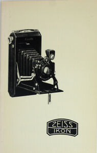 Zeiss Product Catalog For 1930 Reprint Historica Society