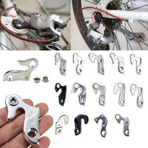 Bicycle Aluminium Alloy Rear Gear Mech Bike Derailleur Hanger Hook Accessories