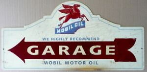 MOBIL-OIL-GARAGE-with-an-aged-look-665mmx320mm-all-weather-sign