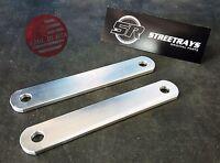 Streetrays Yamaha Vstar / V-star 1100 2 Rear Lowering Links Kit (silver)
