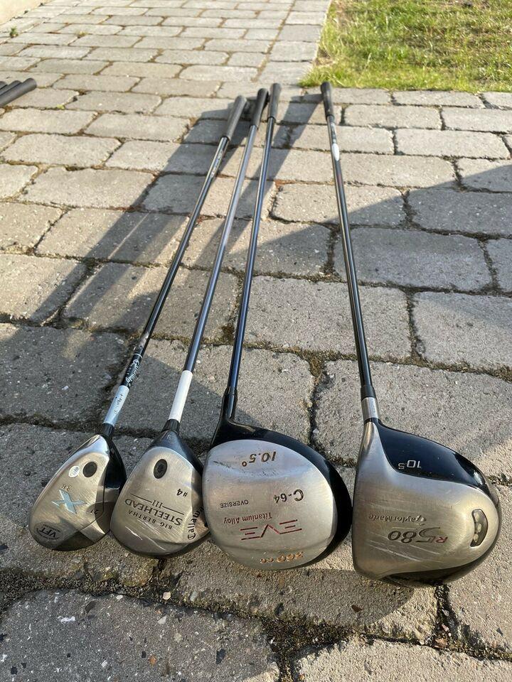Dame golfsæt, grafit, Titleist