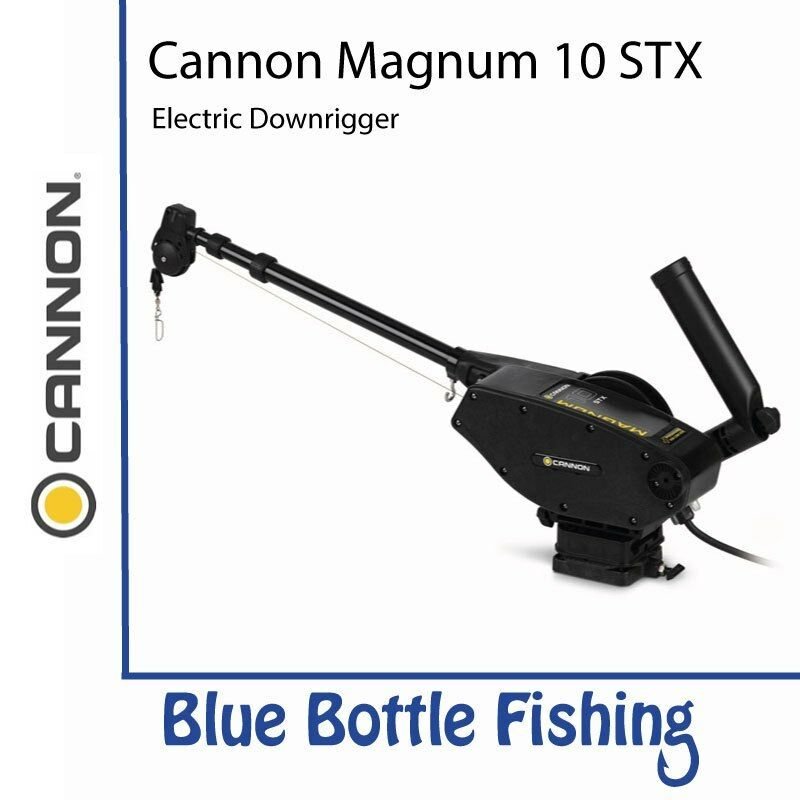 NEW Cannon  Magnum 10 STX Electric Downrigger from bluee Bottle Marine  for cheap