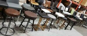 Backless Kitchen Island Counter Stools in Many Colors and Shapes @ ARTeFAC Toronto (GTA) Preview