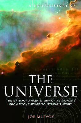 "1 of 1 - ""VERY GOOD"" A Brief History of the Universe, McEvoy, J.P., Book"