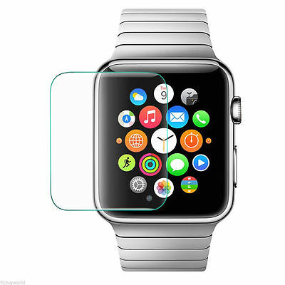 Premium HD slim Clear Tempered Glass Screen Protector for Apple Watch 38mm 42mm