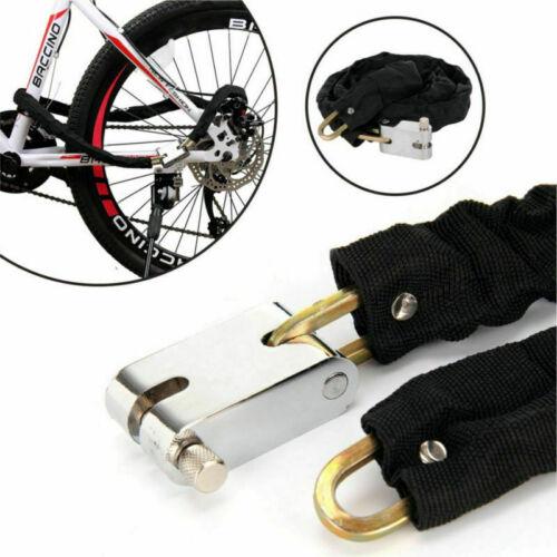 E-Bike// Fahrrad //Motorrad// Mofa Kettenschloss 175 cm 6 mm.