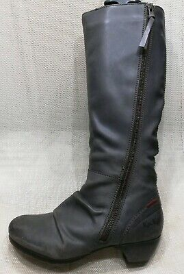 Bottes Kickers femme cuir comme neuves T 37 | eBay