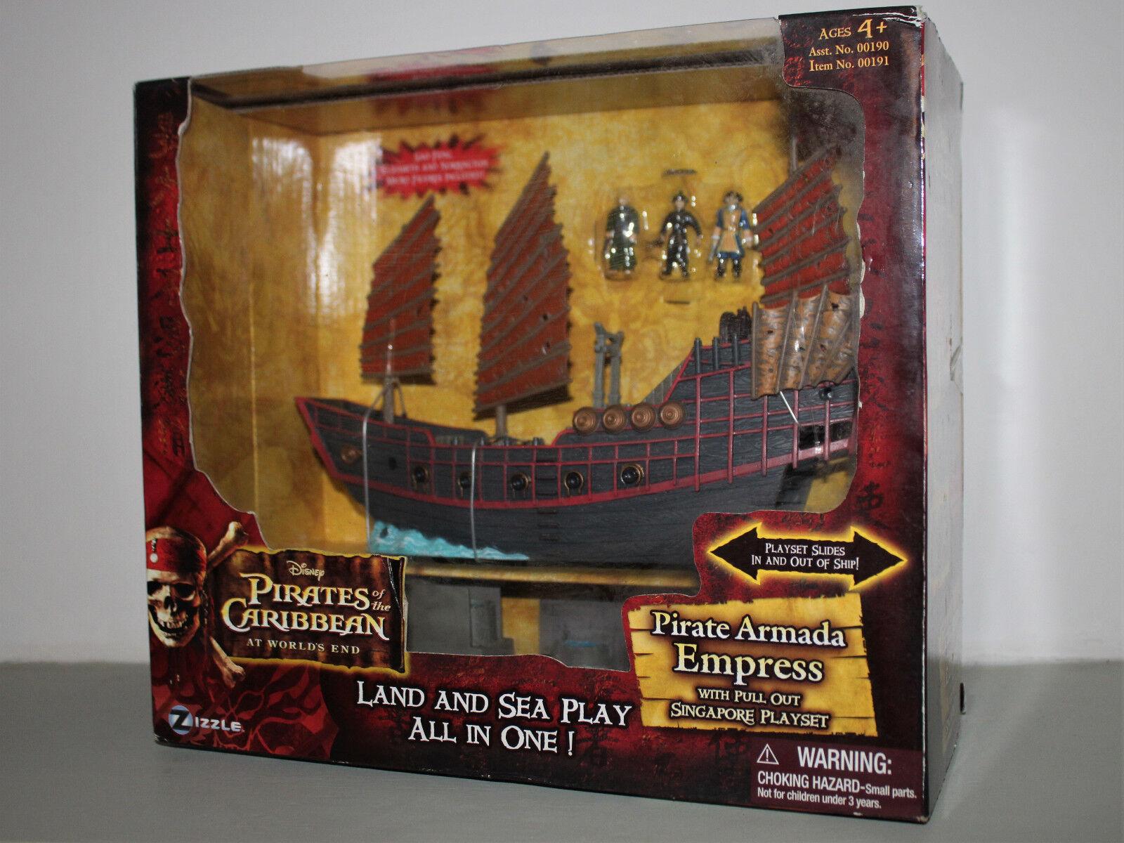 Pirates of the Caribean - Pirate Armada Express & Playset - Zizzle 2007 - New