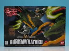 HG 1/144 Gundam Wing Endless Waltz XXXG-01S2 Gundam Nataku Plastic Model Bandai